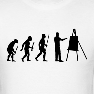 Evolution of Painting - Men's T-Shirt