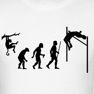 Evolution of High Jump - Men's T-Shirt