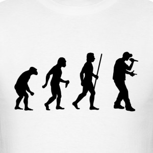 Evolution of Rap - Men's T-Shirt