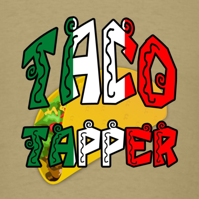 Taco Tapper Men't T-Shirt