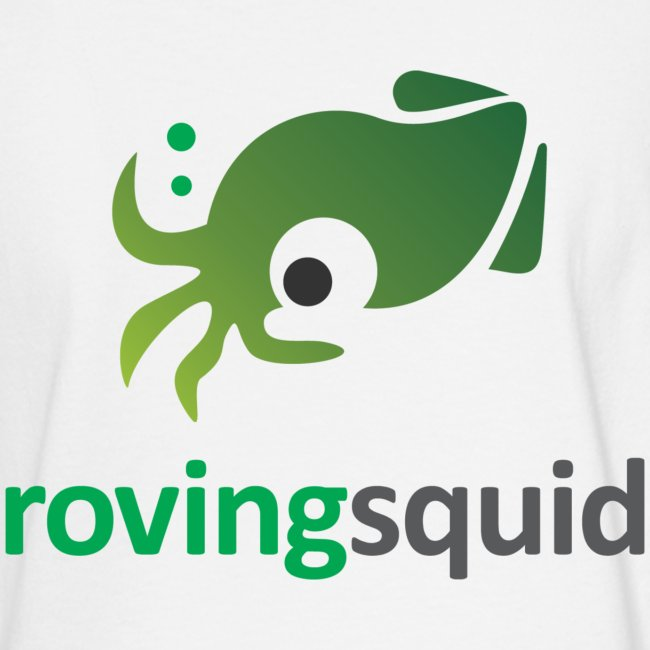 Roving Squid Men's Long Sleeve Logo Sweatshirt