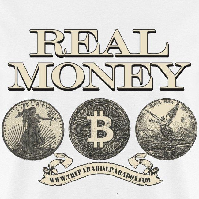 Real Money men's tee