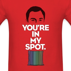 The Big Bang Theory 'My Spot' - Men's T-Shirt