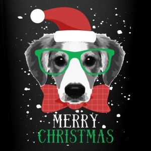 Merry Christmas Dog T-shirt Mugs & Drinkware - Full Color Mug