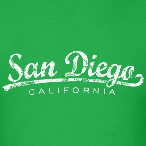 San Diego T-Shirt (Men/Green) Classic - Men's T-Shirt