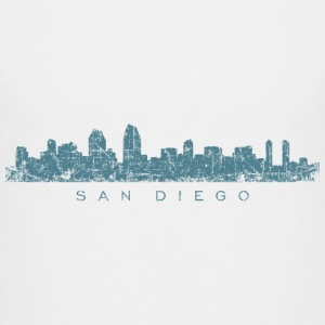San Diego T-Shirt (Children/White) Skyline - Kids' Premium T-Shirt