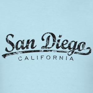 San Diego T-Shirt (Men/Light Blue) Classic - Men's T-Shirt