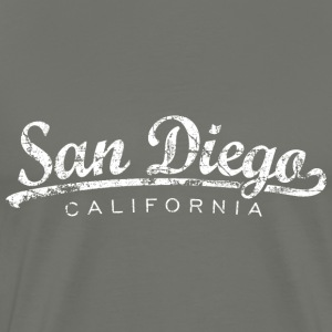 San Diego T-Shirt (Men/Asphalt) Classic - Men's Premium T-Shirt