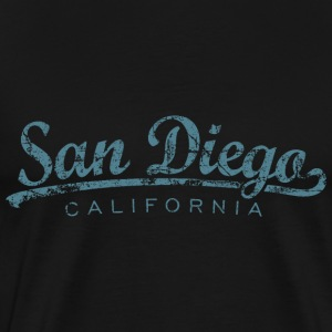 San Diego T-Shirt (Men/Black) Classic - Men's Premium T-Shirt