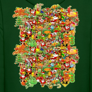 In Christmas Melt into the Crowd and Enjoy Hoodies - Men's Hoodie