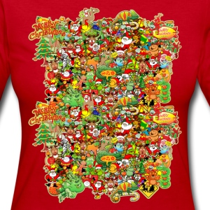 In Christmas Melt into the Crowd and Enjoy Long Sleeve Shirts - Women's Long Sleeve Jersey T-Shirt