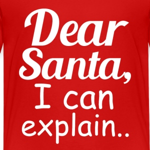 Funny Dear Santa I Can Explain Kids - Kids' Premium T-Shirt