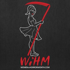 WiHM7 White Logo Bags & backpacks - Tote Bag
