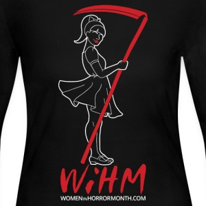 WiHM7 White Logo Long Sleeve Shirts - Women's Long Sleeve Jersey T-Shirt