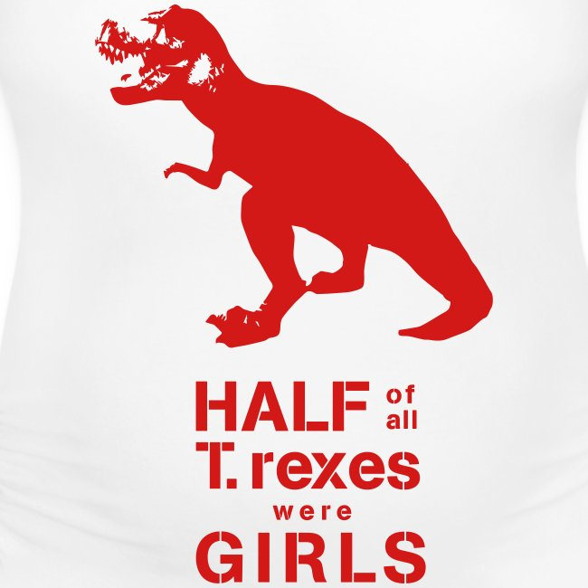 T.rex Maternity Tee