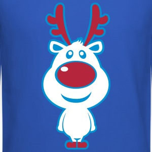 Cute Christmas Deer Long Sleeve Shirts - Crewneck Sweatshirt