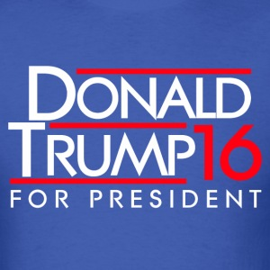 Trump Shirts - Donald Trump for president - Men's T-Shirt
