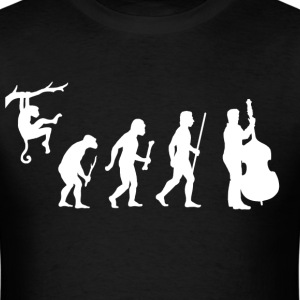Evolution Double Bass - Men's T-Shirt