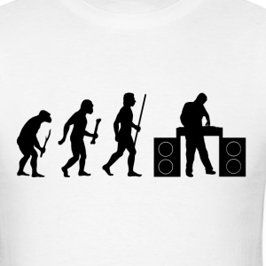 Evolution of DJ T Shirt - Men's T-Shirt