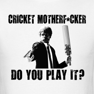 Funny Cricket T Shirt - Men's T-Shirt