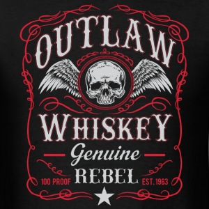 Outlaw 100 proof - Men's T-Shirt