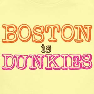 Boston is Dunkies Baby Bodysuits - Short Sleeve Baby Bodysuit