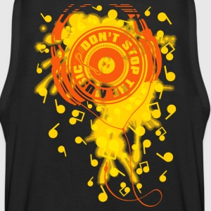 DON'T STOP THE MUSIC - Men's Premium Tank
