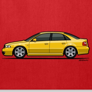 Audi S4 B5 Quattro Imola Yellow Bags & backpacks - Tote Bag