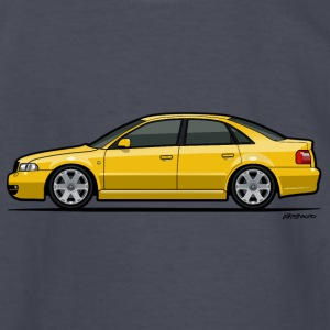 Audi S4 B5 Quattro Imola Yellow Kids' Shirts - Kids' Long Sleeve T-Shirt