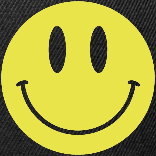 Smiley Lid Black