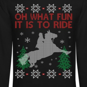 Riding Horse Christmas - Crewneck Sweatshirt