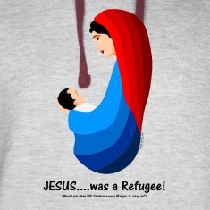 Jesus...was a Refugee! Hoodies