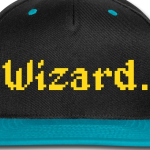 8 Bit Wizard Gamer Caps - Snap-back Baseball Cap