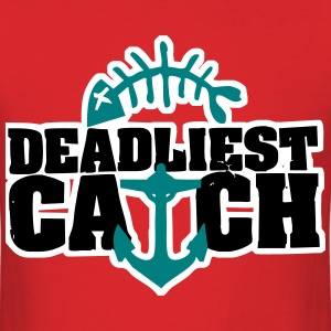 Deadliest Catch Shirt | Red V2 - Men's T-Shirt