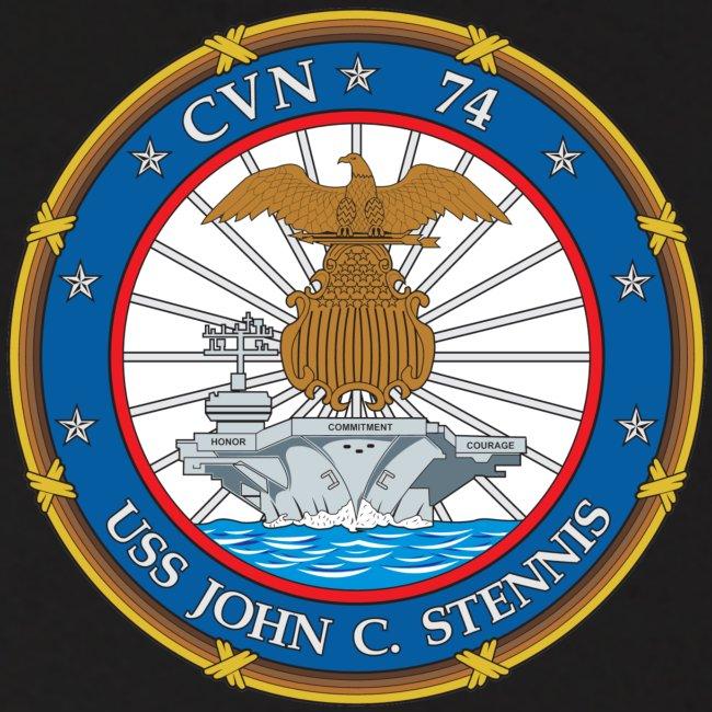 USS JOHN C STENNIS 2009 CRUISE HOODIE