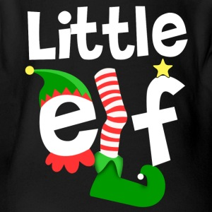 Little Elf Baby Bodysuits - Short Sleeve Baby Bodysuit
