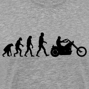 Biker Evolution chopper T-Shirts - Men's Premium T-Shirt