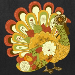 Happy Thanksgiving Day Turkey 01 - Tote Bag