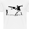 Yank and Banksy - Men's Premium T-Shirt