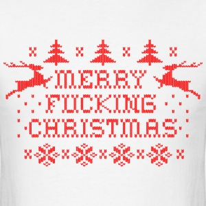 Merry Fucking Christmas T-Shirts - Men's T-Shirt