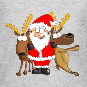 Santa and his Friends Long Sleeve Shirts - Women's Long Sleeve Jersey T-Shirt