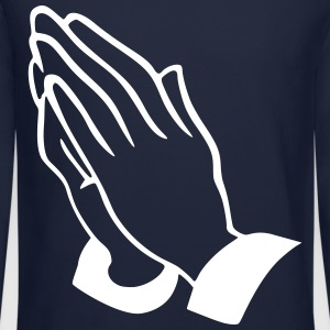 praying hands Long Sleeve Shirts - Crewneck Sweatshirt