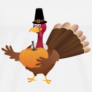 Happy Thanksgiving Day Turkey 25 - Men's Premium T-Shirt