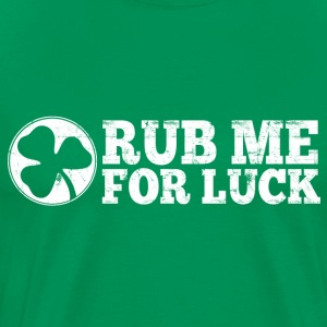 Rub Me For Luck T-Shirts - Men's Premium T-Shirt