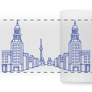Frankfurter Tor Berlin Mugs & Drinkware - Panoramic Mug