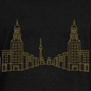 Frankfurter Tor Berlin Long Sleeve Shirts - Women's Wideneck Sweatshirt