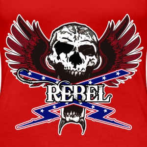 REBEL SKULL - Women's Premium T-Shirt