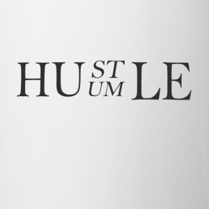 HUSTLE HUMBLE MUG - Contrast Coffee Mug