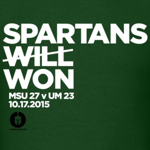 Michigan State MSU Spartans Won T Michigan 2015 T-Shirts - Men's T-Shirt