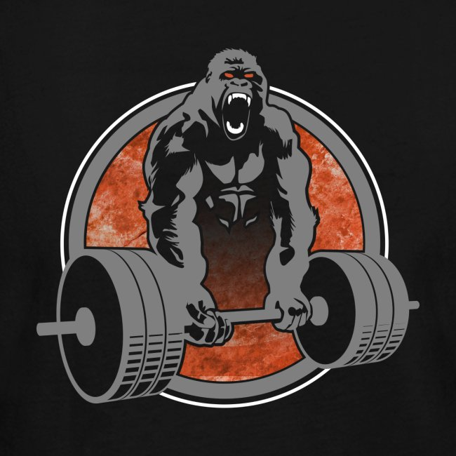Gorilla Beast Color - Design on Back